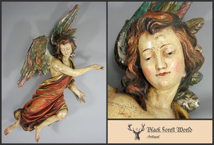 carved wooden Angel